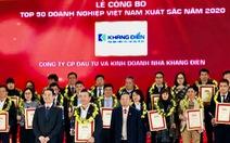 Vinh danh Top 50 doanh nghiệp Việt Nam xuất sắc năm 2020