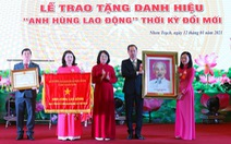 Huyện Nhơn Trạch nhận danh hiệu Anh hùng lao động