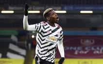 Pogba tỏa sáng, Man Utd hạ Burnley chiếm ngôi đầu bảng