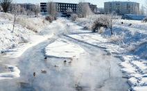 Bất thường: Nhiệt độ miền Trung Tây Ban Nha xuống -25 độ C, lạnh như Siberia