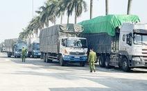 Chặn bắt đoàn xe chở 300 tấn hàng lậu qua địa bàn Hải Dương