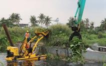 TP.HCM dự kiến chi gần 13 tỉ vớt rác trên sông Vàm Thuật