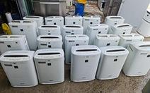 Phát hiện kho chứa hàng điện lạnh cũ không chứng từ ở TP.HCM
