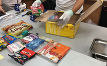 31kg ma túy ẩn trong bánh kẹo, sữa bột từ kiện hàng quốc tế vào Việt Nam
