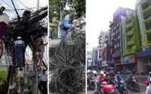 10 năm đưa 'mạng nhện' xuống đất ở TP.HCM