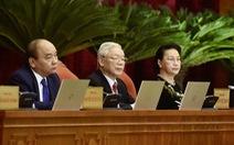 Ảnh lãnh đạo dự khai mạc Hội nghị Trung ương lần thứ 15