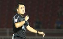 Sân Vinh: Trọng tài Hoàng Ngọc Hà là 'ngôi sao' trận SLNA - Bình Định