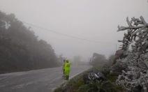 Cục Cảnh sát giao thông khuyến cáo: Cẩn trọng lái xe khi sương mù, băng giá