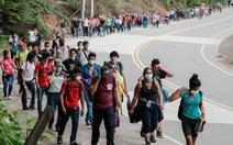 Guatemala, Mexico quyết liệt ngăn dòng người di cư đi bộ đến Mỹ