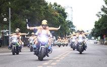 Phân luồng giao thông từ xa, tránh ùn tắc giao thông để phục vụ Đại hội Đảng XIII