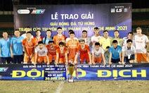 Cầm hòa CLB Sài Gòn, tân binh Bình Định lên ngôi tại giải giao hữu tiền V-League