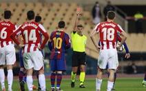 Điểm tin thể thao sáng 20-1: Messi chỉ bị treo giò hai trận
