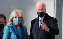 Lễ tuyên thệ nhậm chức của ông Biden đã bắt đầu