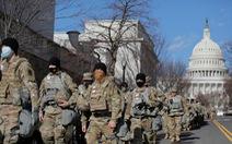 Cả chục lính Vệ binh quốc gia Mỹ bị loại khỏi nhiệm vụ an ninh lễ nhậm chức