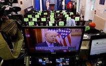 Phát biểu chia tay Nhà Trắng, ông Trump không thèm nhắc tên Biden