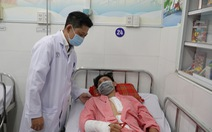 15 bác sĩ hợp sức cứu học sinh vỡ tạng rỗng sau tai nạn giao thông
