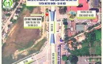 Người dân được tham quan đoàn tàu metro Nhổn - ga Hà Nội vào ngày 23-1