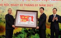 Phát hành bộ tem đặc biệt mừng Đại hội Đảng XIII