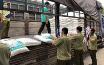 Tạm giữ 45 tấn bột ngọt Trung Quốc nghi nhập lậu