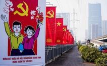 Thủ đô Hà Nội rực rỡ mừng Đại hội Đảng