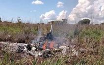 Máy bay rơi, 4 cầu thủ Brazil và chủ tịch đội bóng Palmas tử nạn