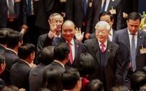 Chùm ảnh lãnh đạo Đảng, Nhà nước và các đại biểu tại phiên họp trù bị Đại hội Đảng XIII