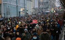 Nga phản đối Mỹ ủng hộ biểu tình đòi thả chính trị gia đối lập Navalny