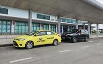 Sân bay Phú Bài không còn tình trạng một hãng taxi duy nhất đón khách