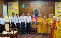 Lãnh đạo TP.HCM chúc tết Ban trị sự Giáo hội Phật giáo Việt Nam TP.HCM
