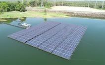 Trang trại điện Mặt Trời nổi lớn nhất thế giới ở Thái Lan