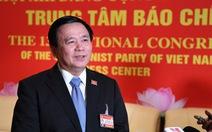 Ông Nguyễn Xuân Thắng: 'Nhân sự được chuẩn bị theo quy trình rất chặt chẽ'