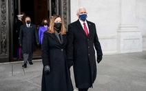 Cựu phó tổng thống Mỹ Mike Pence chưa thể an cư sau khi rời nhiệm sở