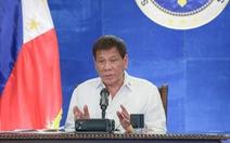 Tổng thống Duterte muốn tiêm vắc xin ở mông