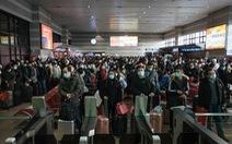 Hàng triệu người Trung Quốc bắt đầu 'Xuân vận' giữa nỗi lo COVID