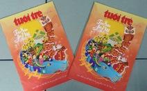 Bìa Tuổi Trẻ xuân - Tân Sửu an vui giành giải nhất của Hội Nhà báo TP.HCM