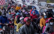 Xe cộ ở các cửa ngõ Hà Nội đều 'đứng hình', có nơi kéo dài 8 cây số