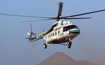Trực thăng quân sự Cuba rơi, 5 người chết