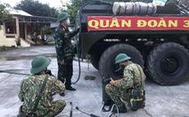 Quân đoàn 3 đưa bộ đội hóa học phối hợp dập dịch ở Gia Lai