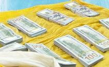 Vác bao tiền hơn 86.000 USD băng đồng sang Campuchia, nhận thù lao 200.000 đồng