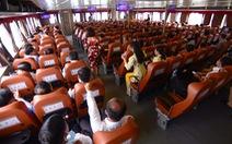 Tuyến phà biển Cần Giờ - Vũng Tàu ngày đầu khai trương