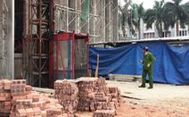 Vận thăng rơi ở Nghệ An làm 3 người chết vừa kiểm định hơn 4 tháng