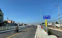Chính thức thông xe cầu Phước Lộc sau 8 năm chờ đợi