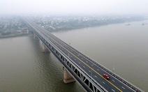 Cầu Thăng Long thông xe sau hơn 4 tháng sửa chữa