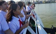 Thi văn hay, chữ tốt ngay sau trải nghiệm du ngoạn sông Sài Gòn
