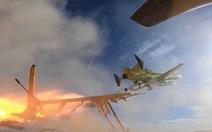 Iran phô diễn máy bay không người lái mang tên lửa