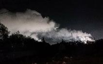 Khói bụi khét lẹt từ Nhà máy thép Hòa Phát Dung Quất khiến dân bức xúc