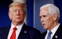 Phó tổng thống Mike Pence 'giận dữ' chưa từng thấy khi mắc kẹt trong Điện Capitol