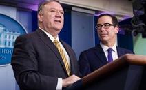 Đài Mỹ tiết lộ ông Pompeo, Mnuchin thảo luận phế truất ông Trump nhưng phút cuối từ bỏ