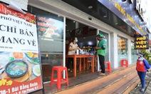 TP.HCM chưa có chủ trương mở lại dịch vụ ăn uống tại chỗ