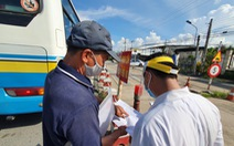 Ngày đầu thí điểm vận tải hành khách liên tỉnh: Các tỉnh miền Tây vẫn chờ 'xin ý kiến'